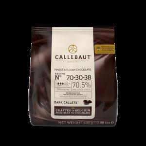Chocolate Negro 70.5% Callebaut 400 Grs 🇧🇪