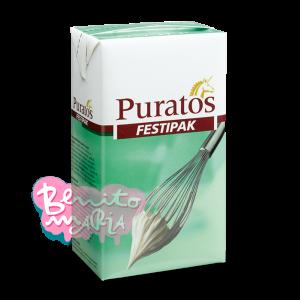 Crema Festipak Puratos Sin Azúcar 1 Litro Uht