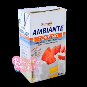 CREMA AMBIANTE PURATOS 1 LITRO